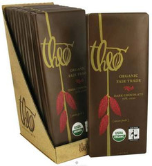 70% Dark Chocolate, 12 of 3 OZ, Theo Chocolate