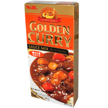 S&B Golden Curry Mild 3.5 oz  From S&B