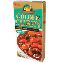 S&B Golden Curry Medium Hot 3.5 oz  From S&B
