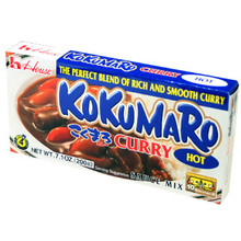 Kokumaro Curry Hot 7.1 oz  From House Foods