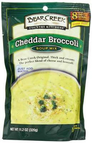 Cheddar Broccoli, 6 of 11.2 OZ, Bear Creek