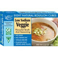 Veggie, Low Sodium, Cubes, 12 of 2.2 OZ, Edward & Sons