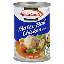 Chicken, Matzo Ball, Natural, 12 of 14 OZ, Manischewitz