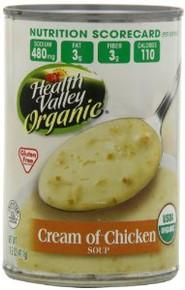 Cream Of Chicken, 12 of 14.5 OZ, Health Valley