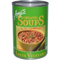 Lentil Vegetable, 12 of 14.5 OZ, Amy'S