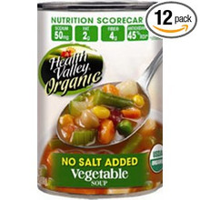 Vegetable, Unsalted, 12 of 15 OZ, Health Valley