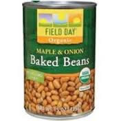 Baked, Beans w/Maple & Onion, 12 of 15 OZ, Field Day