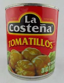 Tomatillo, Green, 12 of 28 OZ, La Costena