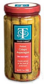 Asparagus, Spicy Hot, 6 of 12 OZ, Tillen Farms