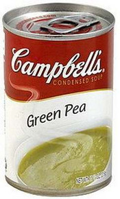 Green Pea Soup, 12 of 11.3 OZ, Campbell