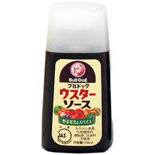 BullDog 50% Less Salt Worcestershire Sauce 5.6 fl oz  From Bull-Dog