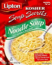 Soup, Noodle, Kosher, 12 of 4.09 OZ, Lipton