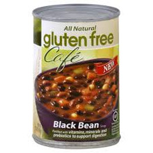 Black Bean, 12 of 15 OZ, Gluten Free Cafe