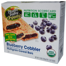 Blueberry Cobbler, 6 of 7.9 OZ, Health Valley