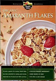 Amaranth Flakes, 6 of 12.65 OZ, Health Valley