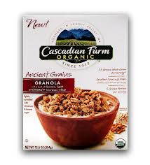 Ancient Grain Granola, 6 of 12.5 OZ, Cascadian Farm