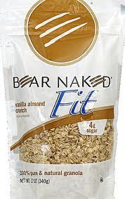 Fit V'Nilla Almond, 6 of 12 OZ, Bear Naked