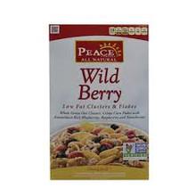 Wild Berry Crisp, Low Fat, 6 of 10 OZ, Peace Cereal