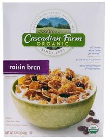 Raisin Bran, 10 of 12 OZ, Cascadian Farm