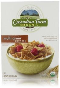 Multi Grain Squares, 10 of 12.3 OZ, Cascadian Farm