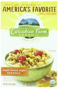 Maple Brown Sugar Granola, 6 of 15 OZ, Cascadian Farm