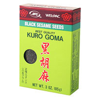 WP Black Sesame Seed 3 oz  From Wel-Pac