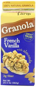 French Vanilla w/Almonds, 8 of 20.5 OZ, Sweet Home Farm