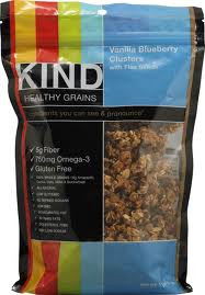 Vanilla Blueberry Clstr/Flax, 6 of 11 OZ, Kind