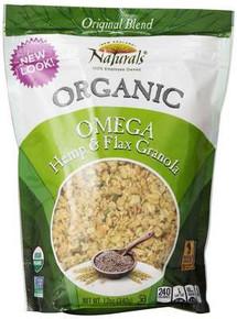 Omega Hemp & Flax, 6 of 12 OZ, New England Naturals