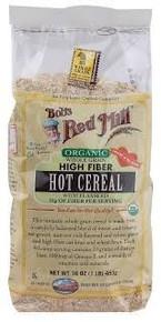 High Fiber, Hot, w/Flaxseed, WG, 4 of 16 OZ, Bob'S Red Mill