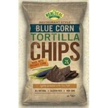 Blue Corn Tortilla, 9 of 24 OZ, Real Deal All Natural Snacks