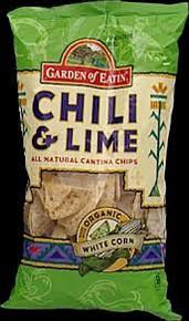 Chili & Lime, 12 of 8.1 OZ, Garden Of Eatin'