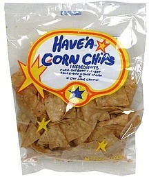 Corn Chips, 24 of 4 OZ, Have'A Natural Foods