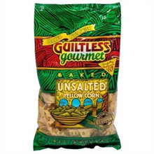 Yellow, Unsalted, 12 of 7 OZ, Guiltless Gourmet