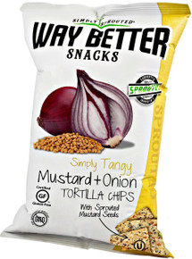 Simply Tangy Mustard & Onion, 12 of 5.5 OZ, Way Better Snacks