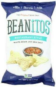 White Bean w/Sea Salt, 6 of 6 OZ, Beanitos