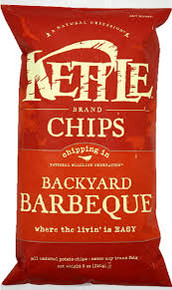 Backyard Barbeque, 12 of 8.5 OZ, Kettle Foods