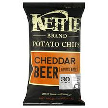 Cheddar Beer, 15 of 5 OZ, Kettle Foods