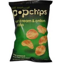Sour Cream & Onion, 12 of 3.5 OZ, Popchips