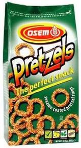 Pretzel, Sesame Rings, 12 of 10.5 OZ, Osem