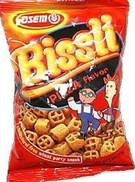 Bissli, Pizza Flavor, 24 of 2.5 OZ, Osem
