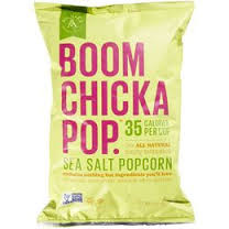 Boomchickapop, Sea Salt, 12 of 4.8 OZ, Angie'S