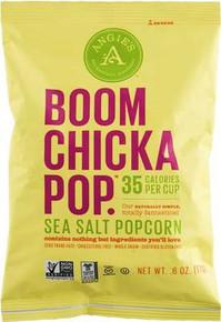 Popcorn, Sea Salt, 24 of 0.6 OZ, Angie'S