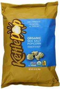 Sea Salt Popcorn, 15 of 3.5 OZ, Kettle Pop