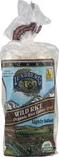Wild Rice, Salted, 12 of 8.5 OZ, Lundberg