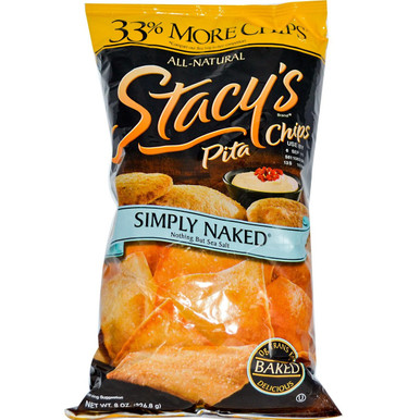 Simply Naked, 12 of 8 OZ, Stacy'S