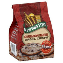 Bagel Crisp, Cinnamon Raisin, 12 of 7.2 OZ, New York Style