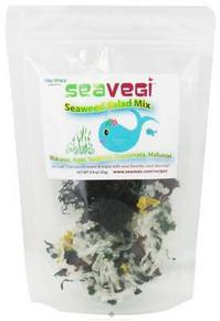 Seaweed Salad Mix, 12 of 0.9 OZ, Seasnax