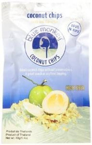 Toasted Coconut Chips, 24 of 1.4 OZ, Blue Monkey