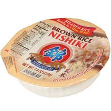Nishiki Steamed Brown Rice 7.4 oz  From Nishiki